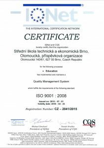 IQnet_certifikat